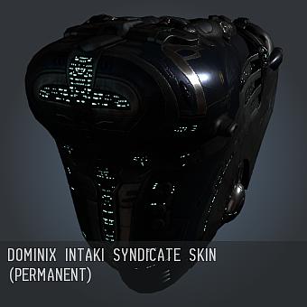 Dominix Intaki Syndicate SKIN (permanent)