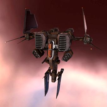 Gungnir II (heavy fighter drone) - 10 units
