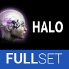 Full Set of High-Grade HALO implants