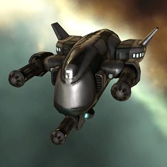 Hammerhead I (medium attack drone) - 2,500 units