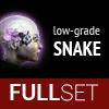 Full Set of Low-Grade SNAKE implants