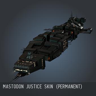 Mastodon Justice SKIN (Permanent)