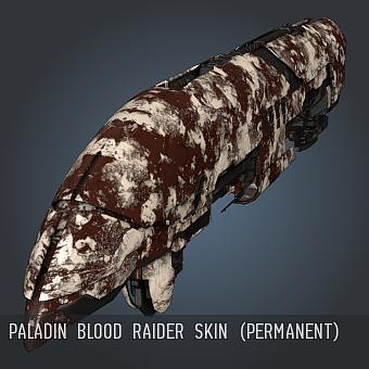 Paladin Blood Raiders SKIN (permanent)