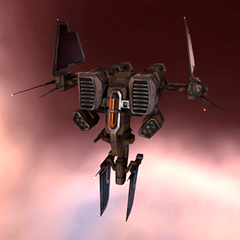 Tyrfing I (heavy fighter drone) - 10 units