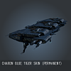 Charon Blue Tiger SKIN (Permanent)