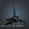 Cheetah Justice SKIN (Permanent)
