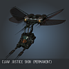 Claw Justice SKIN (Permanent)
