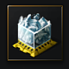 Compressed Blue Ice (ice ore) - 250 units