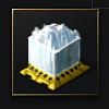 Compressed Smooth Glacial Mass (ice ore) - 200 units