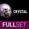 Full Set of Mid-Grade CRYSTAL implants