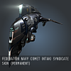 Federation Navy Comet Intaki Syndicate SKIN (Permanent)