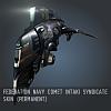 Federation Navy Comet Intaki Syndicate SKIN (Permanent)