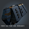 Fenrir Blue Tiger SKIN (Permanent)