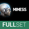 Full Set of Mid-Grade MIMESIS implants