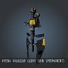Hyena Valklear Glory SKIN (Permanent)