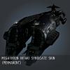 Megathron Intaki Syndicate SKIN (permanent)