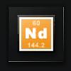 Neodymium (raw moon material) - 2,500 units