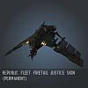 Republic Fleet Firetail Justice SKIN (Permanent)