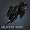 Sabre Justice SKIN (Permanent)