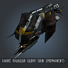 Sabre Valklear Glory SKIN (Permanent)