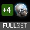 Full Set of Standard Implants (+4 modifier)