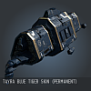 Tayra Blue Tiger SKIN (Permanent)