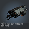 Typhoon Fleet Issue Justice SKIN (Permanent)
