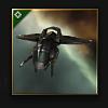 Federation Navy Hobgoblin (light attack drone) - 100 units