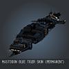 Mastodon Blue Tiger SKIN (Permanent)
