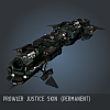 Prowler Justice SKIN (Permanent)