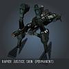 Rapier Justice SKIN (permanent)